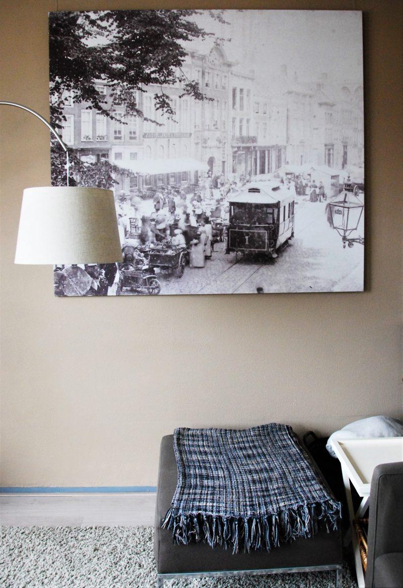 tweedehands interieur - canvas Grote Markt - @vintageorfair