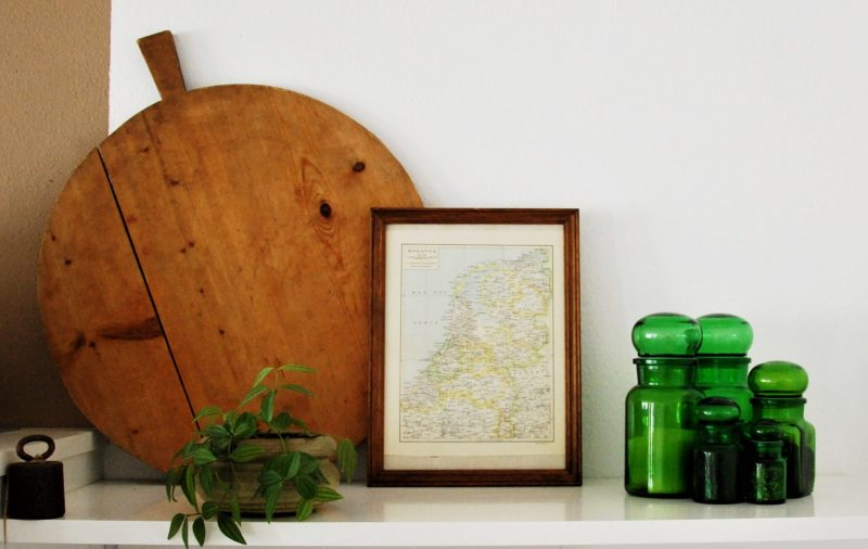 tweedehands interieur - Hollanda map - @vintageorfair