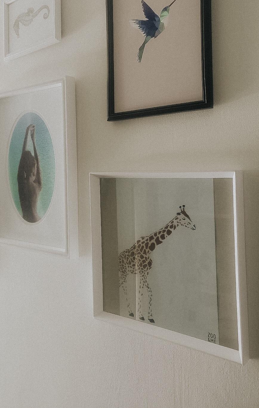 Giraf poster Zoo&Me