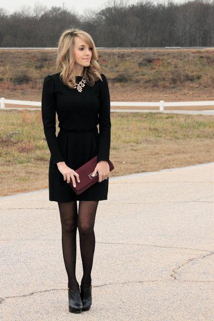 Kort zwart jurkje met lange mouw | Kerstoutfits met items die je al hebt | Good For